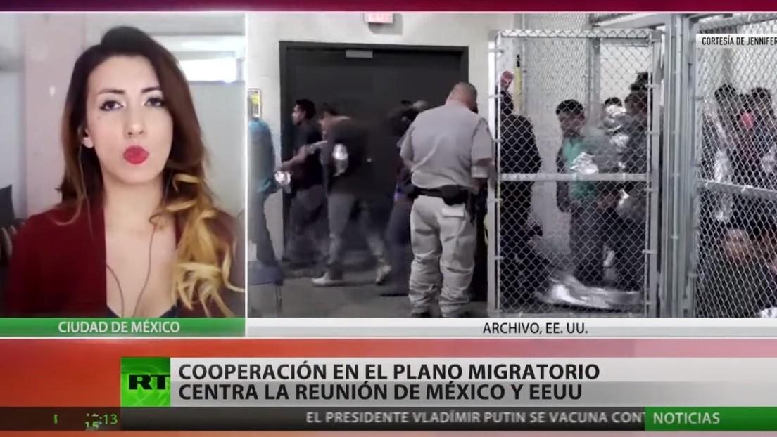 La cooperación en el plano migratorio: tema central de la reunión entre México y EE.UU.