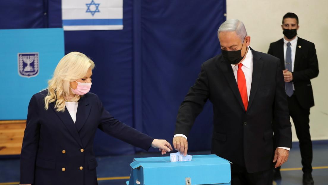 """Sondeos a pie de urna no dan un claro ganador en las elecciones en Israel, mientras que Netanyahu anuncia """"una gran victoria para la derecha"""""""
