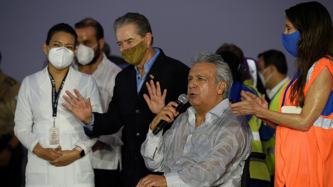 """""""Pensábamos que existía"""": Lenín Moreno admite que Ecuador no contaba con un plan de vacunación"""