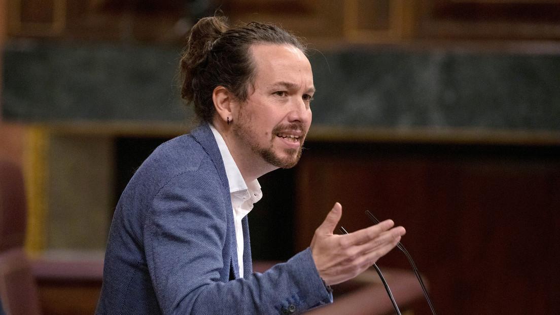 España: Pablo Iglesias anuncia que presentará una querella contra el secretario general del PP por 'comprar' diputados