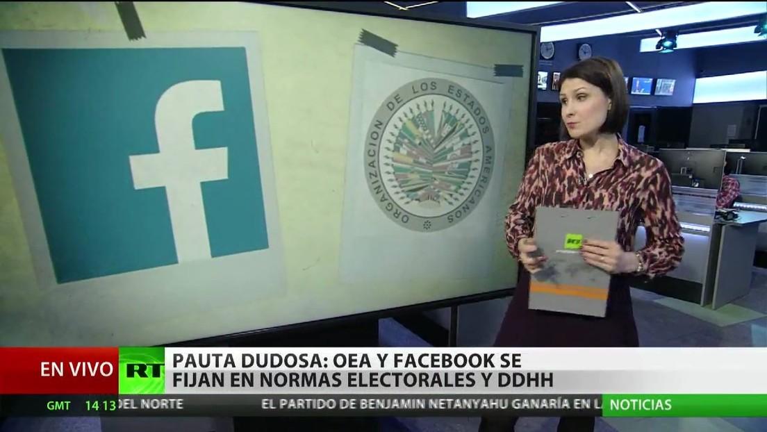 La OEA y Facebook se fijan en normas electorales y derechos humanos mientras Bolivia rechaza la injerencia de Almagro