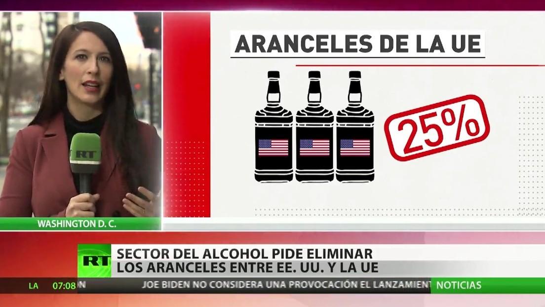 El sector del alcohol busca eliminar los aranceles entre EE.UU., la UE y Reino Unido