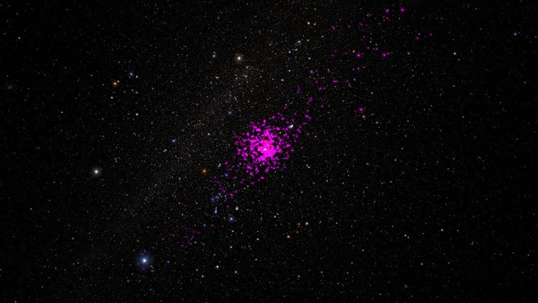 Una fuerza invisible desgarra el cúmulo de estrellas más cercano a la Tierra
