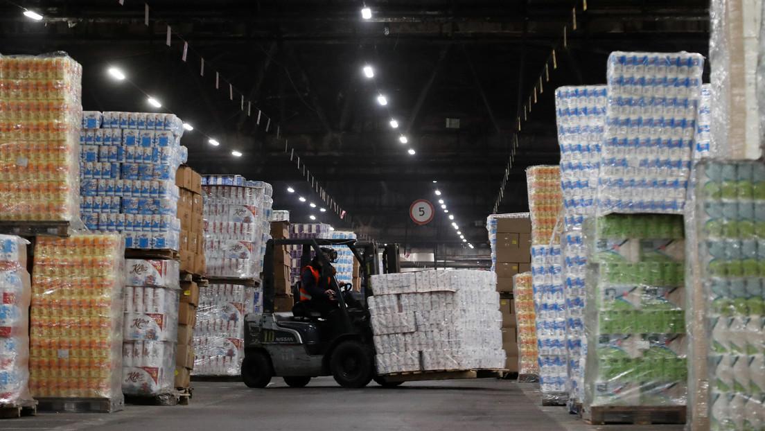 La crisis de contenedores de transporte amenaza con dejar de nuevo sin papel higiénico a los consumidores
