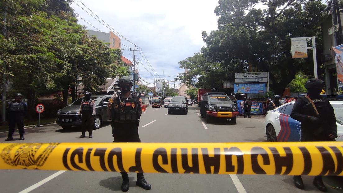 Un presunto ataque suicida frente a una iglesia católica deja varios heridos en Indonesia