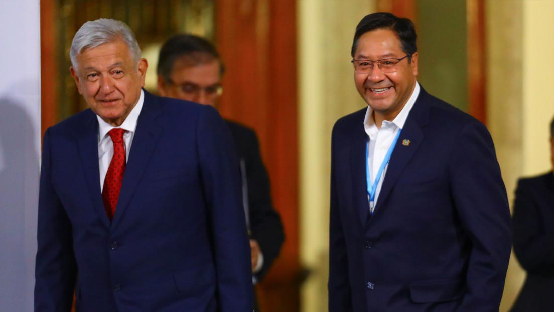 Bolivia y México consolidan su amistad en la primera visita oficial de Arce