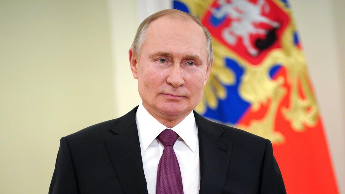 Presidente ruso, Vladímir Putin