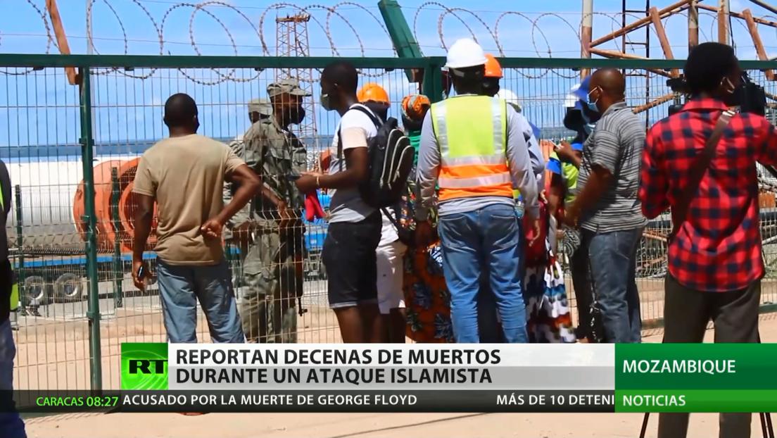 Reportan decenas de muertos durante un ataque islamista en el norte de Mozambique