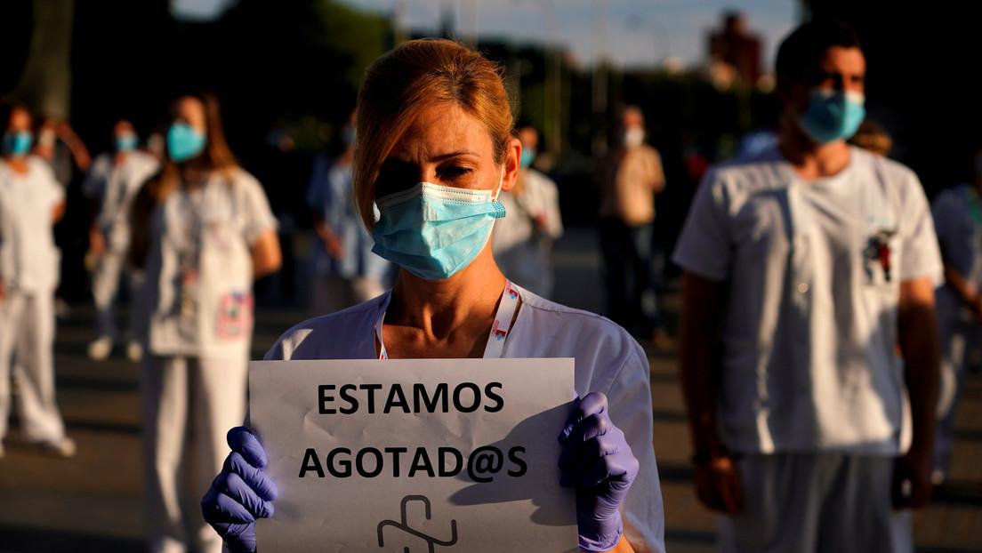 De héroes a villanos: las agresiones contra sanitarios aumentan en España en medio de la pandemia