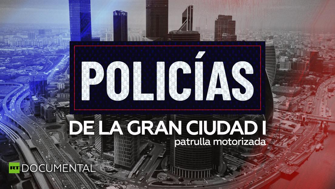 Policías de la gran ciudad I: Patrulla motorizada