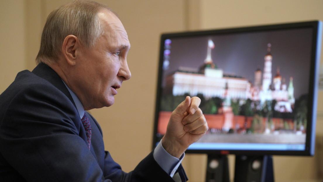 Putin llama a crear reglas globales en el ciberespacio a medida que se intensifica la disputa con EE.UU. por ciberataques