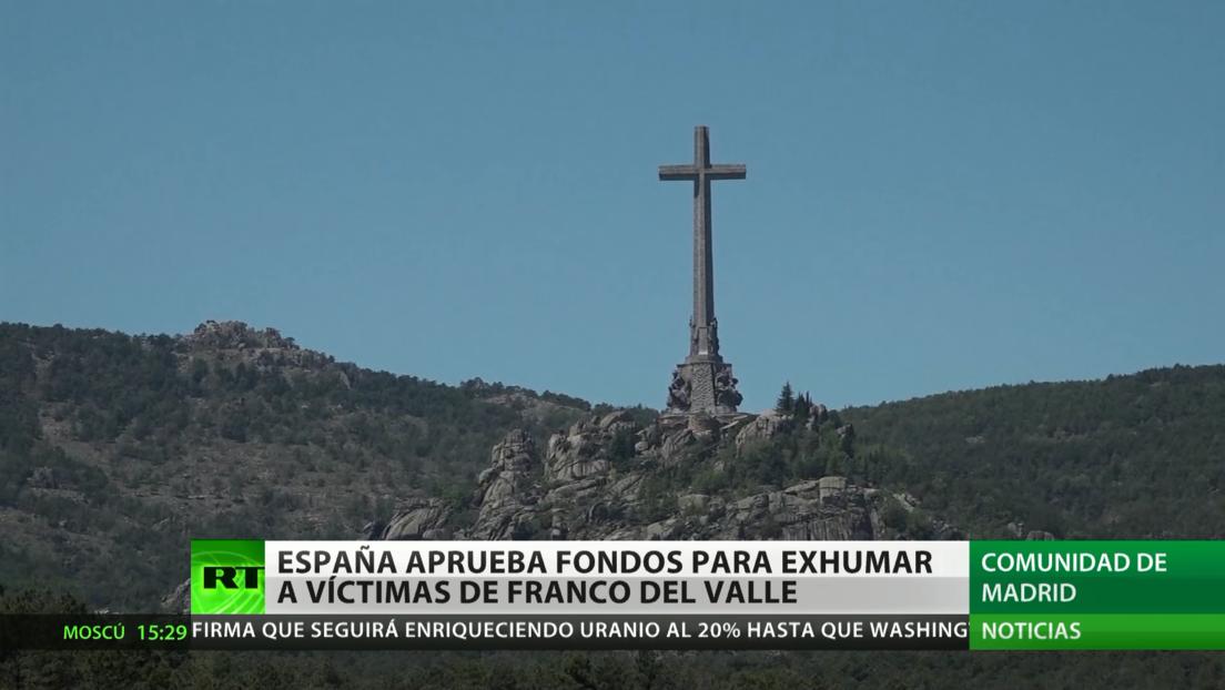 España aprueba fondos para exhumar a las víctimas de Franco del Valle de los Caídos