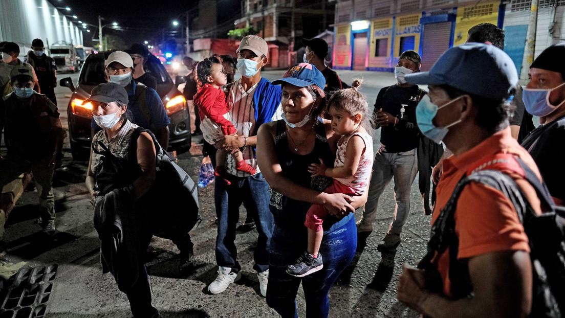 Parte de Honduras la segunda caravana de migrantes de 2021 con rumbo a EE.UU.