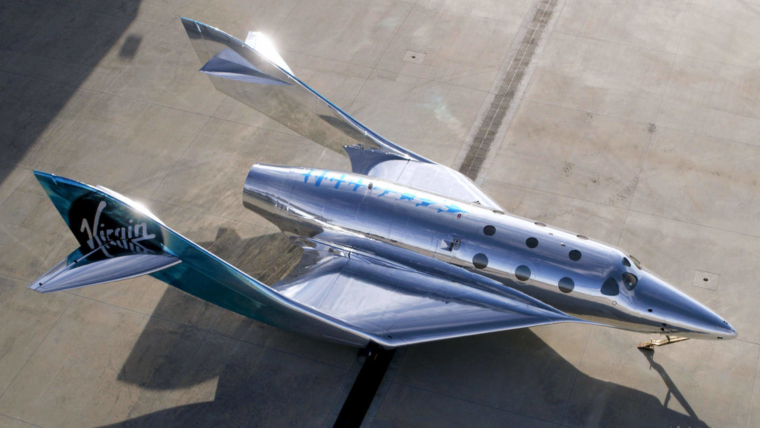 VIDEO: Virgin Galactic presenta una nueva nave para vuelos turísticos suborbitales