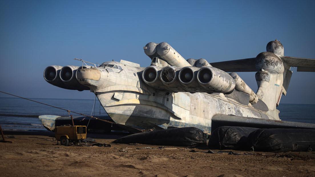 El creador del ekranoplano soviético Lun explica por qué el proyecto todavía es