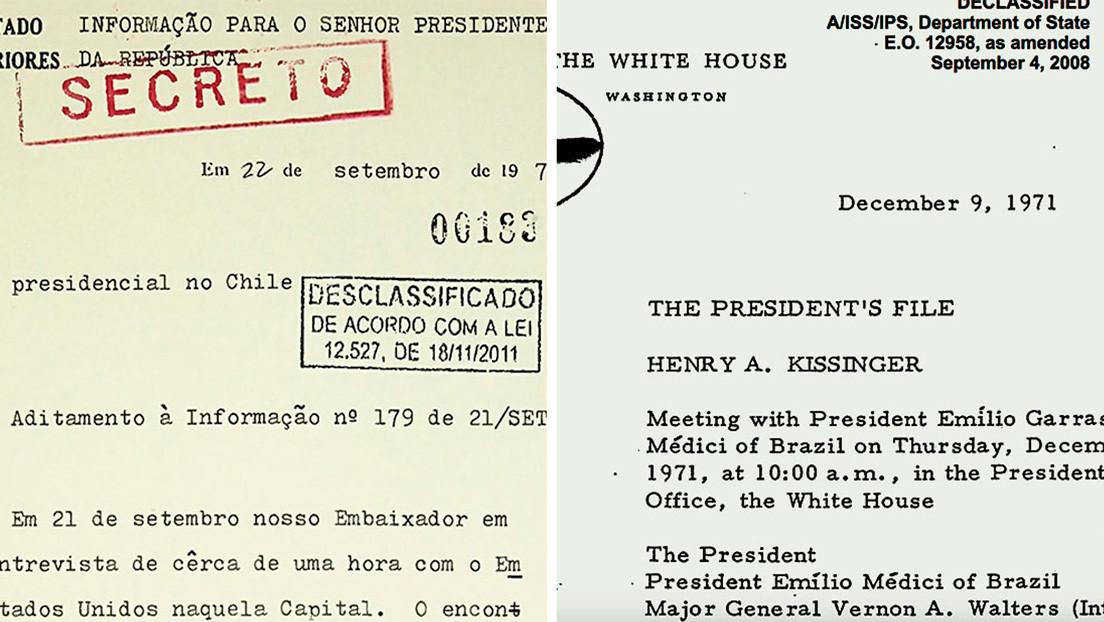 Documentos desclasificados muestran que Brasil intervino junto a EE.UU. para derrocar a Salvador Allende en Chile
