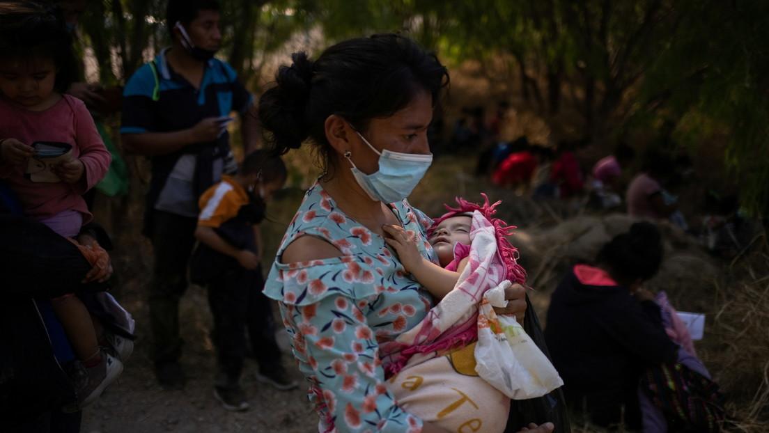 La Patrulla Fronteriza de EE.UU. rescata a una bebé de seis meses arrojada al Río Grande por traficantes