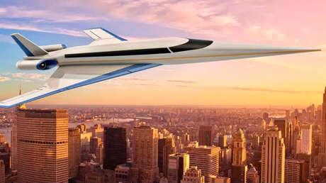 El 'nuevo Concorde': así será el avión supersónico S-512 que volará de Londres a Nueva York en menos de dos horas (FOTOS)