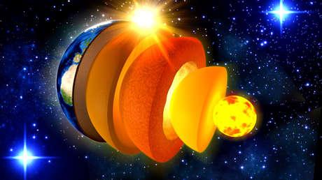 Detectan indicios de una estructura desconocida en el núcleo de la Tierra