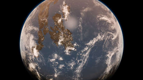 """La Tierra era un auténtico """"mundo de agua"""" y el océano pudo cubrirla hasta las cimas del Himalaya hace miles de millones de años, según un estudio"""