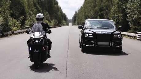 VIDEO: La marca de la limusina presidencial rusa revela el prototipo de su primera moto eléctrica