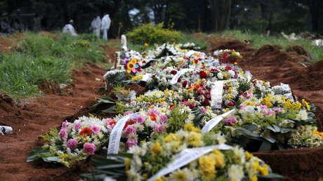Brasil alcanza un nuevo récord de muertes diarias por coronavirus, con 2.340 fallecidos en una jornada