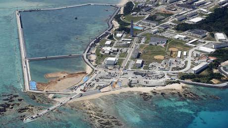 """Tokio y Washington reafirman la intención de trasladar """"lo antes posible"""" la base militar estadounidense en Okinawa"""