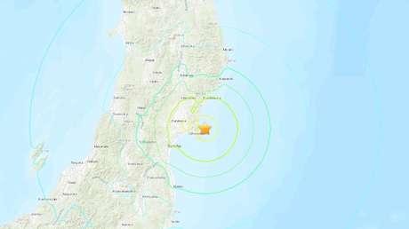 Se registra un sismo de magnitud 7,2 en la costa de Japón