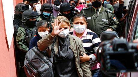 Trasladan de manera sorpresiva a Jeanine Áñez a otra cárcel de La Paz