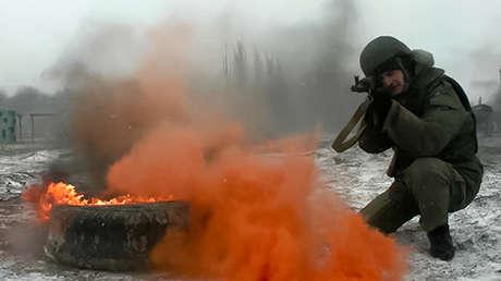 VIDEO: Así son los entrenamientos de resistencia al estrés en combate del Ejército ruso
