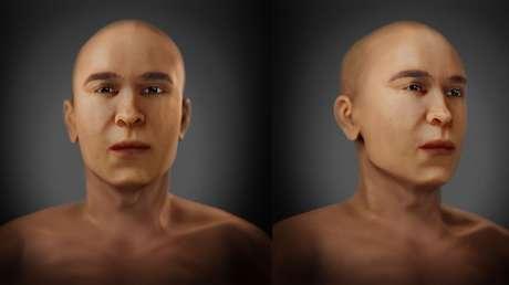 Reconstruyen la cara del padre de Tutankamón