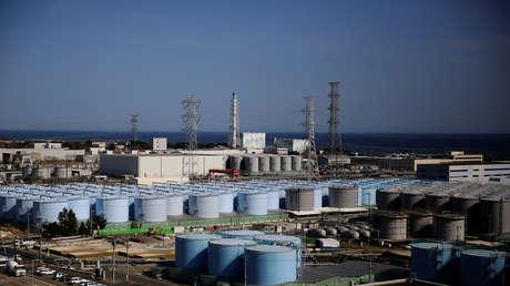 Descubren fuga de material radioactivo en un contenedor de la central nuclear Fukushima-1