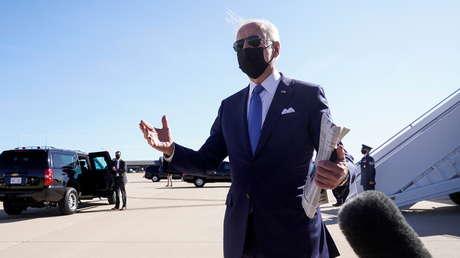 Joe Biden dice tener teorías sobre el posible origen de la pandemia