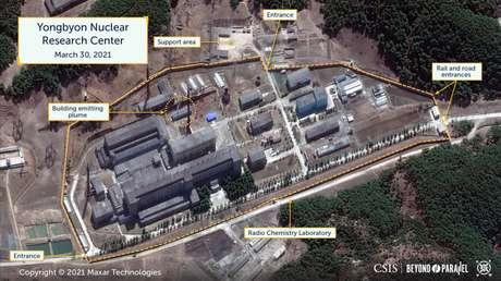 ¿Aumenta Pionyang la presión sobre Biden?: Imágenes por satélite sugieren una nueva actividad nuclear de Corea del Norte (FOTOS)