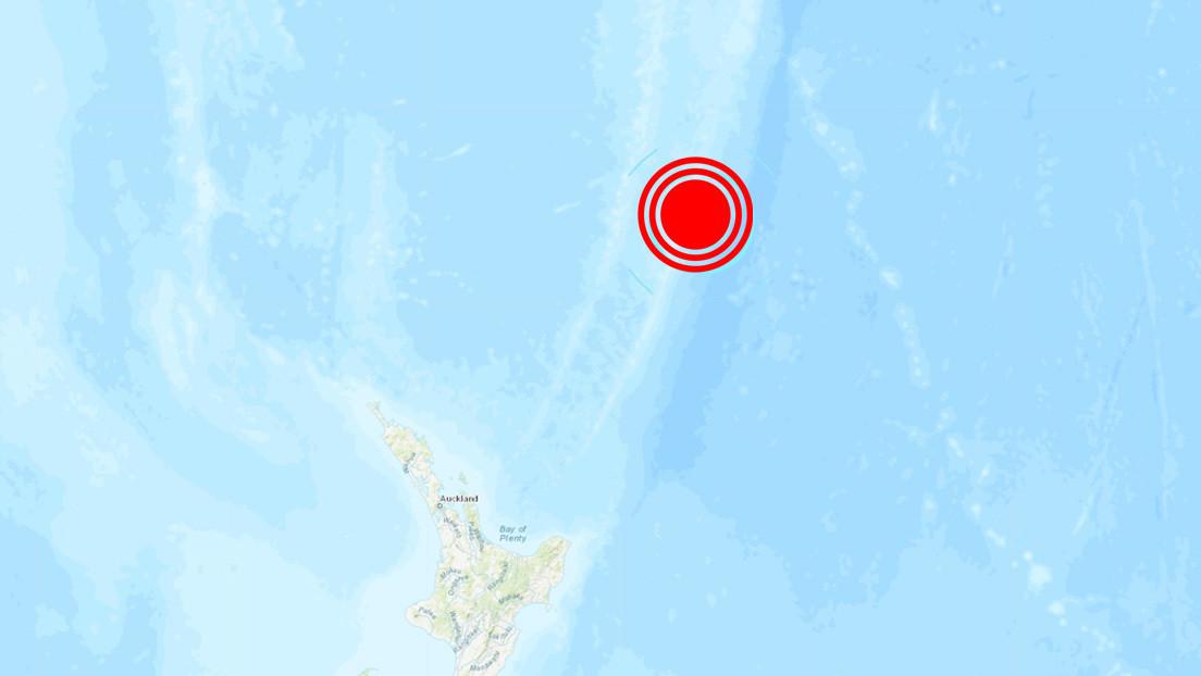 Nueva Zelanda registra un potente sismo de magnitud 6,3 en sus costas