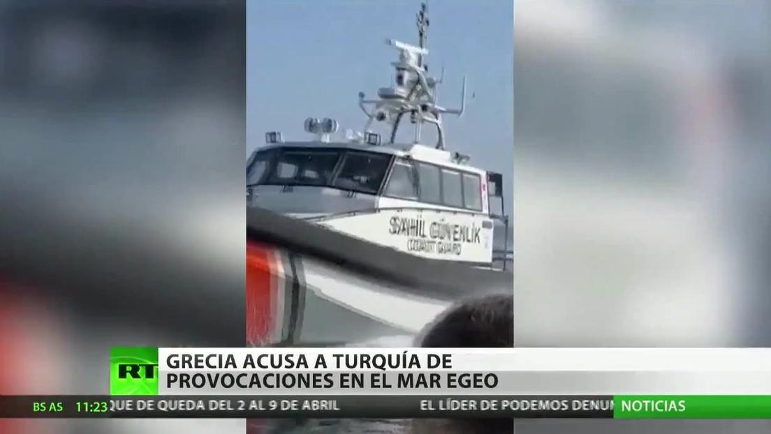 Grecia denuncia provocaciones turcas en el mar Egeo