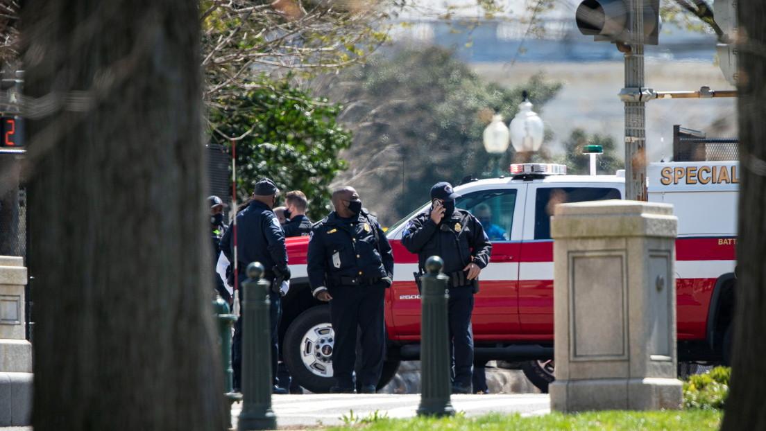 Un policía muere y otro resulta herido tras ser embestidos por un vehículo cerca del Capitolio de EE.UU.
