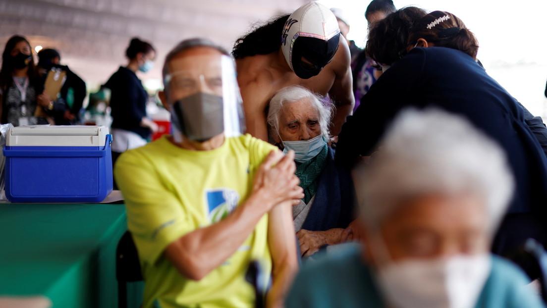 Denuncian en México que a una anciana le inyectaron aire en lugar de la vacuna contra el covid-19
