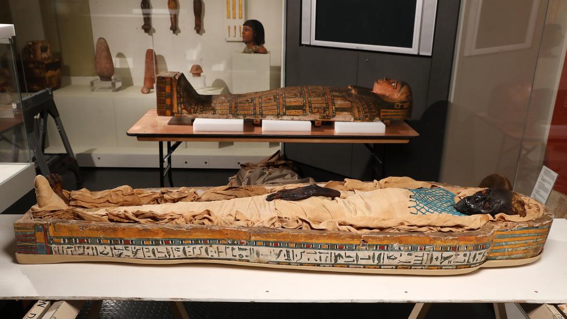 Nueva investigación revela la causa de la muerte de una momia de 2.600 años de antigüedad
