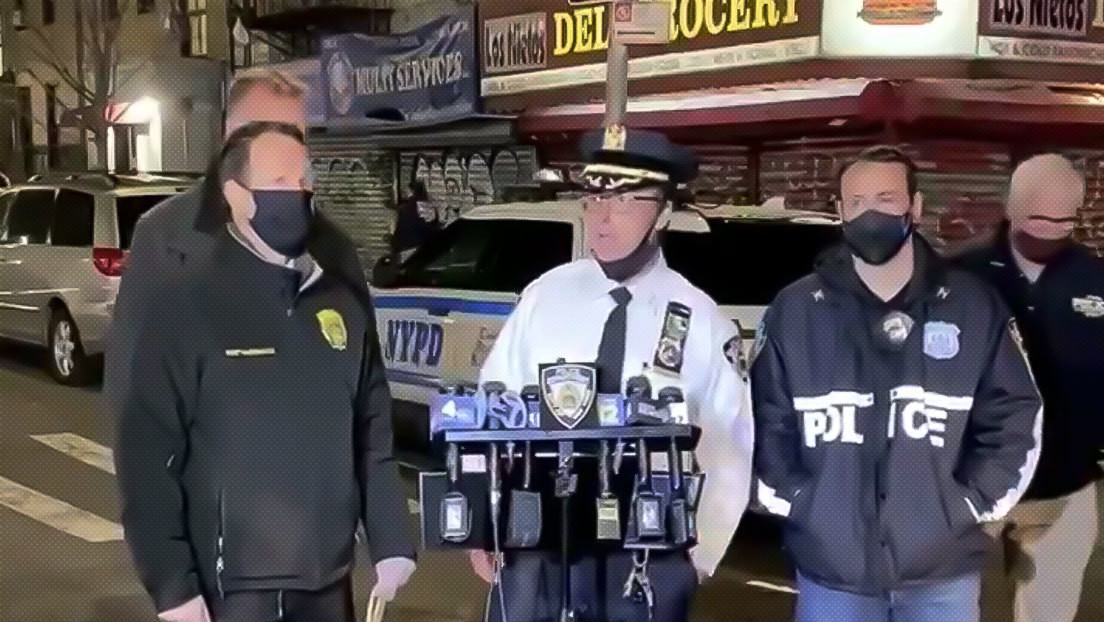 Un tiroteo entre hombres armados y policías en Nueva York deja un muerto y dos heridos