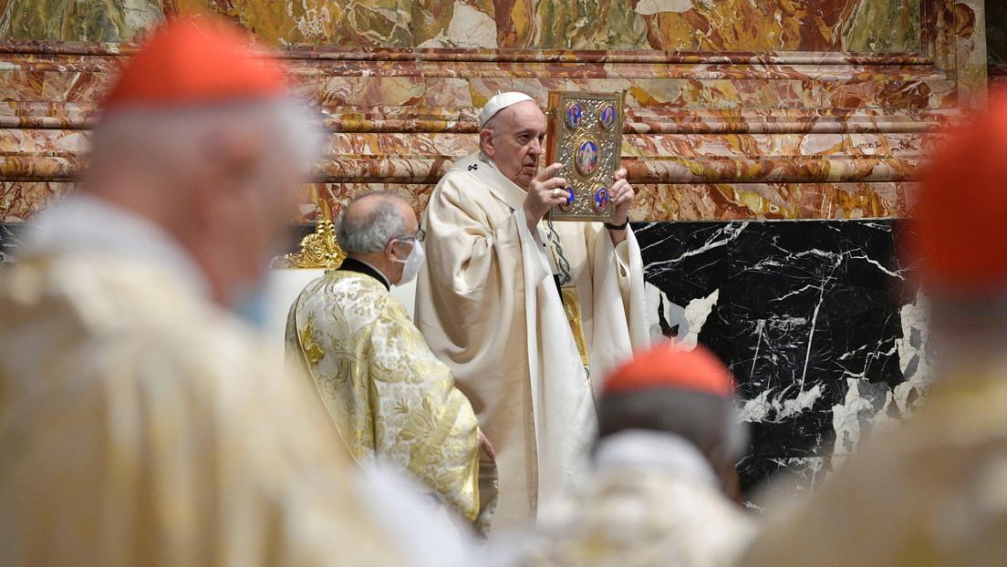 VIDEO: El papa Francisco oficia la misa del Domingo de Resurrección en el Vaticano