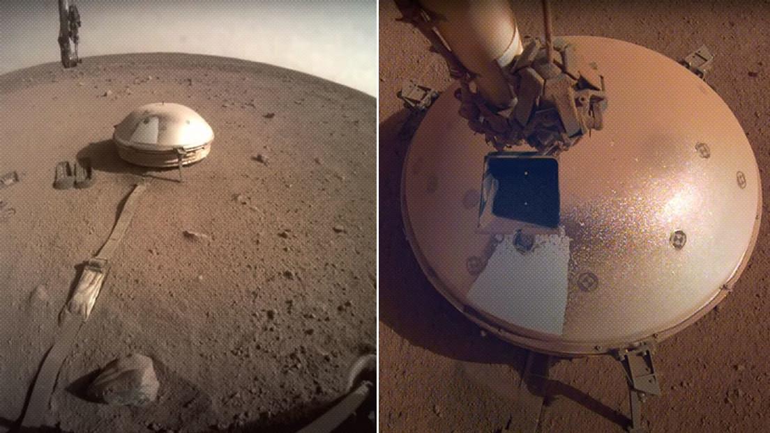 VIDEO: La sonda InSight de la NASA detecta dos fuertes terremotos en Marte