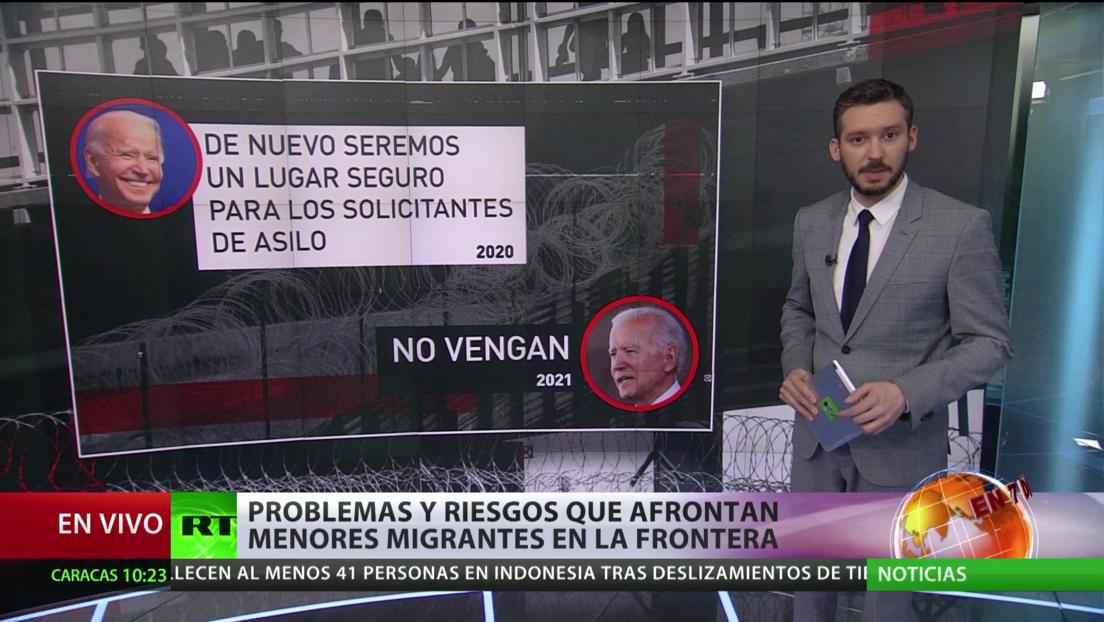 Aumento de migrantes en la frontera de EE.UU. pone a prueba a Biden; Argentina recuerda las dificultades del colectivo