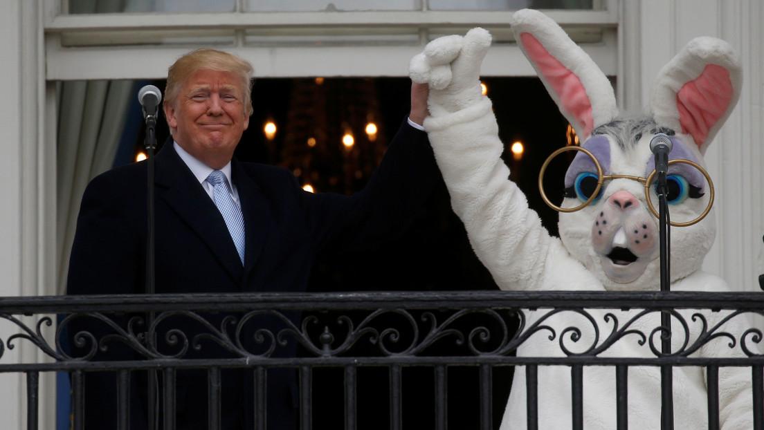 """""""¡Felices Pascuas a todos, incluyendo los locos de la izquierda radical!"""": Trump emite un controvertido mensaje durante las festividades"""
