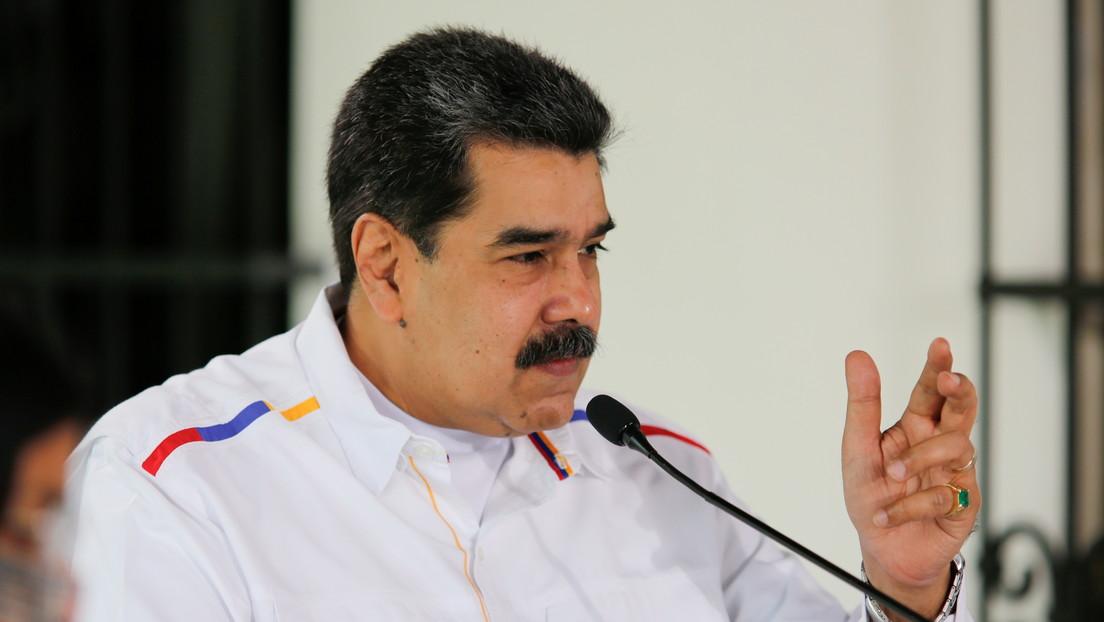 """Maduro afirma que medios internacionales """"demonizan"""" la pandemia en Venezuela"""