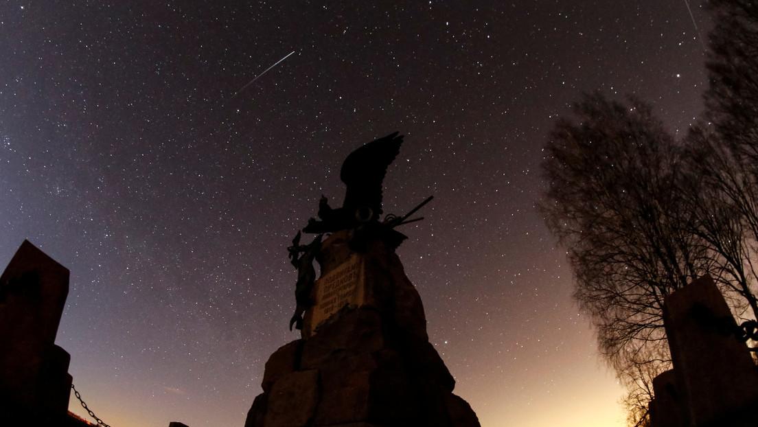 La lluvia de meteoritos líridas será visible desde la Tierra a mediados de abril