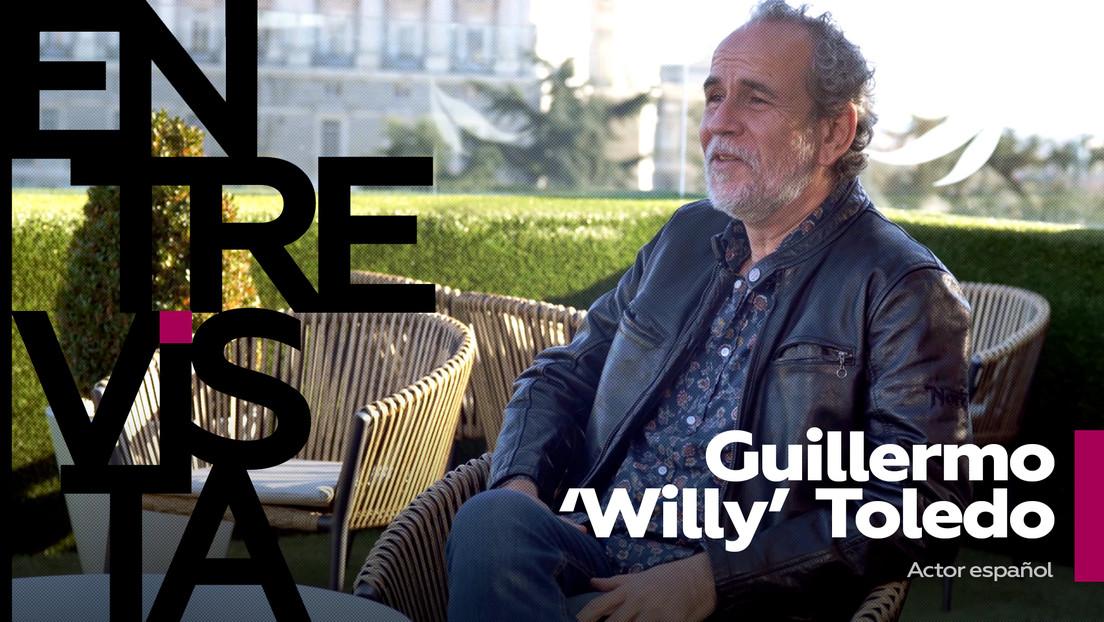 """Guillermo 'Willy' Toledo: """"Durante la pandemia, la 'ley mordaza' se ha utilizado más que nunca para recortar nuestras libertades civiles"""""""