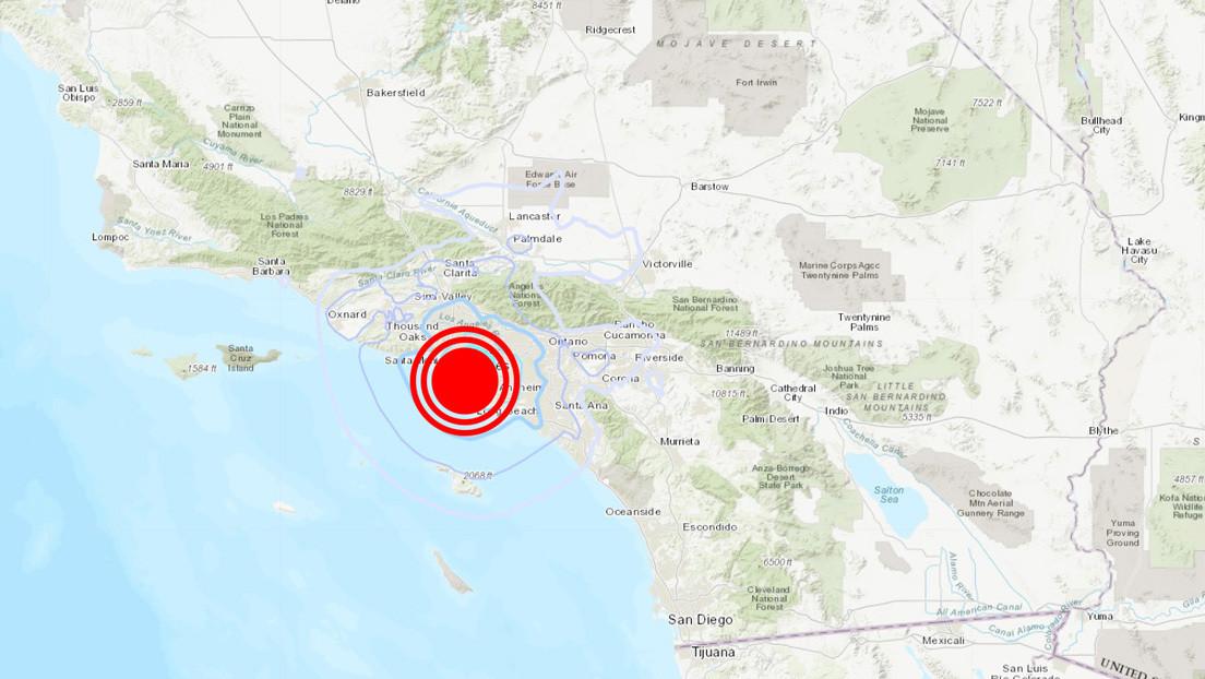 Se registra un terremoto de magnitud 4,0 cerca de Los Ángeles
