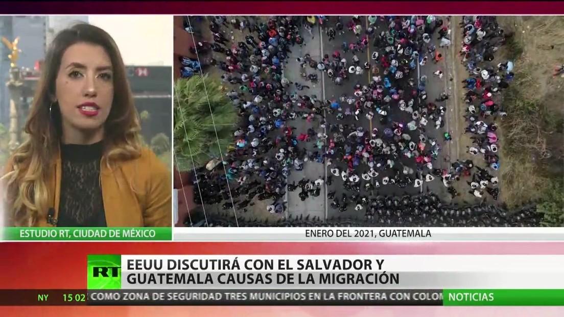 EE.UU. discutirá con El Salvador y Guatemala las causas de la migración