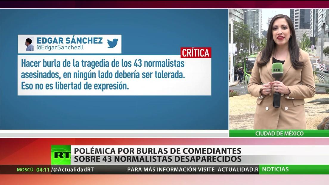 Burlas de comediantes acerca de los 43 normalistas desaparecidos desatan polémica en México